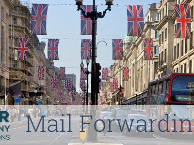 Business Mail Forwarding Address (paid annually) Your Company Formations